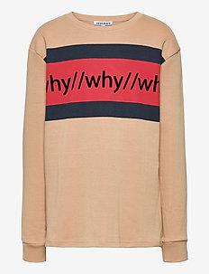 KIP L_S TEE - langermede t-skjorter - 17-1320 tannin