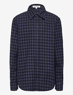 KAPSTER L_S SHIRT - shirts - 19-4014 ombre blue