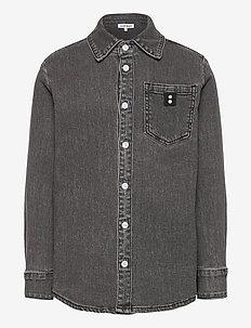 KATO L_S SHIRT - shirts - black iris