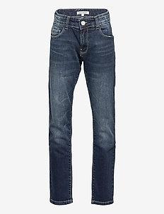 KOBIE JEANS DARK BLUE WASH - jeans - dark blue denim wash