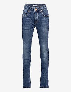 BOWIE JEANS MEDIUM BLUE DENIM WASH - jeans - medium blue denim wash