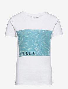 MAJA SS TEE - t-shirts - bright white