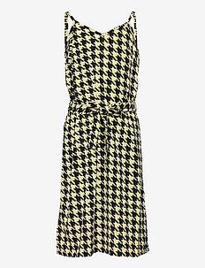 NALA SL DRESS - kleider - pale banana