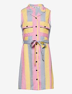 NINNA SL DRESS - kleider - dusty blue