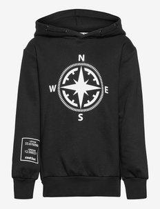 CBOYSTER LS HOODIE - hoodies - black