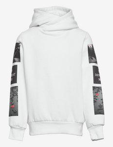 CBOMAFFA LS HOODIE - hoodies - bright white