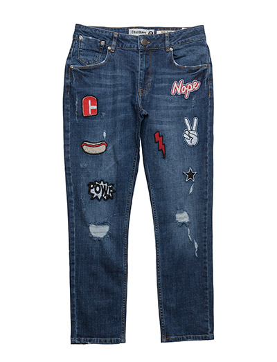 Rocco Jeans - 833-BLUE DENIM
