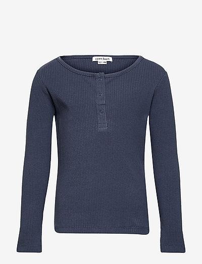 CBOLAYA LS TEE - langærmede t-shirts - china blue