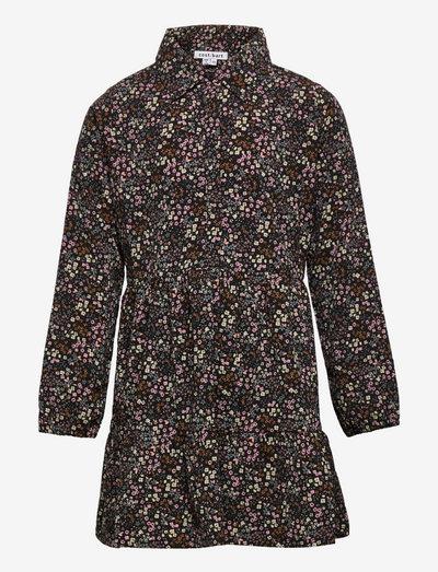 CBOGENIA LS SHIRT DRESS - nederdele - china blue