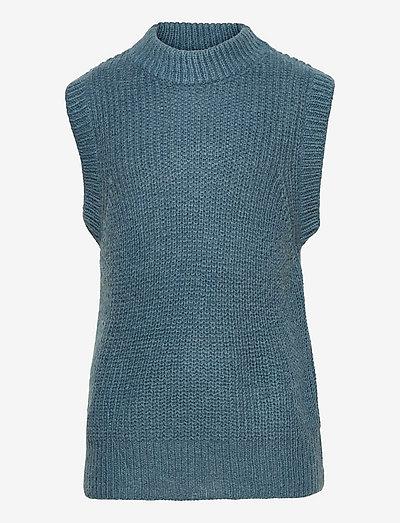 CBOTINA SLIPOVER - veste - china blue