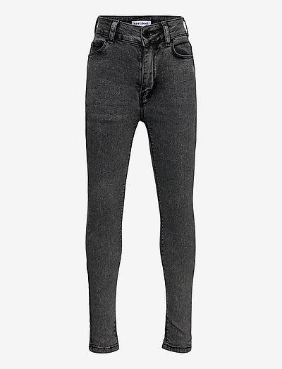 CBLILY SUPER HIGH WAIST JEANS - jeans - grey denim wash