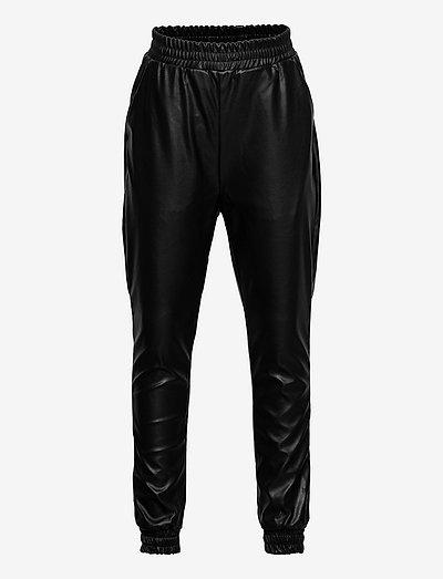 CBODINA HIGH WAIST PANTS - bukser - black