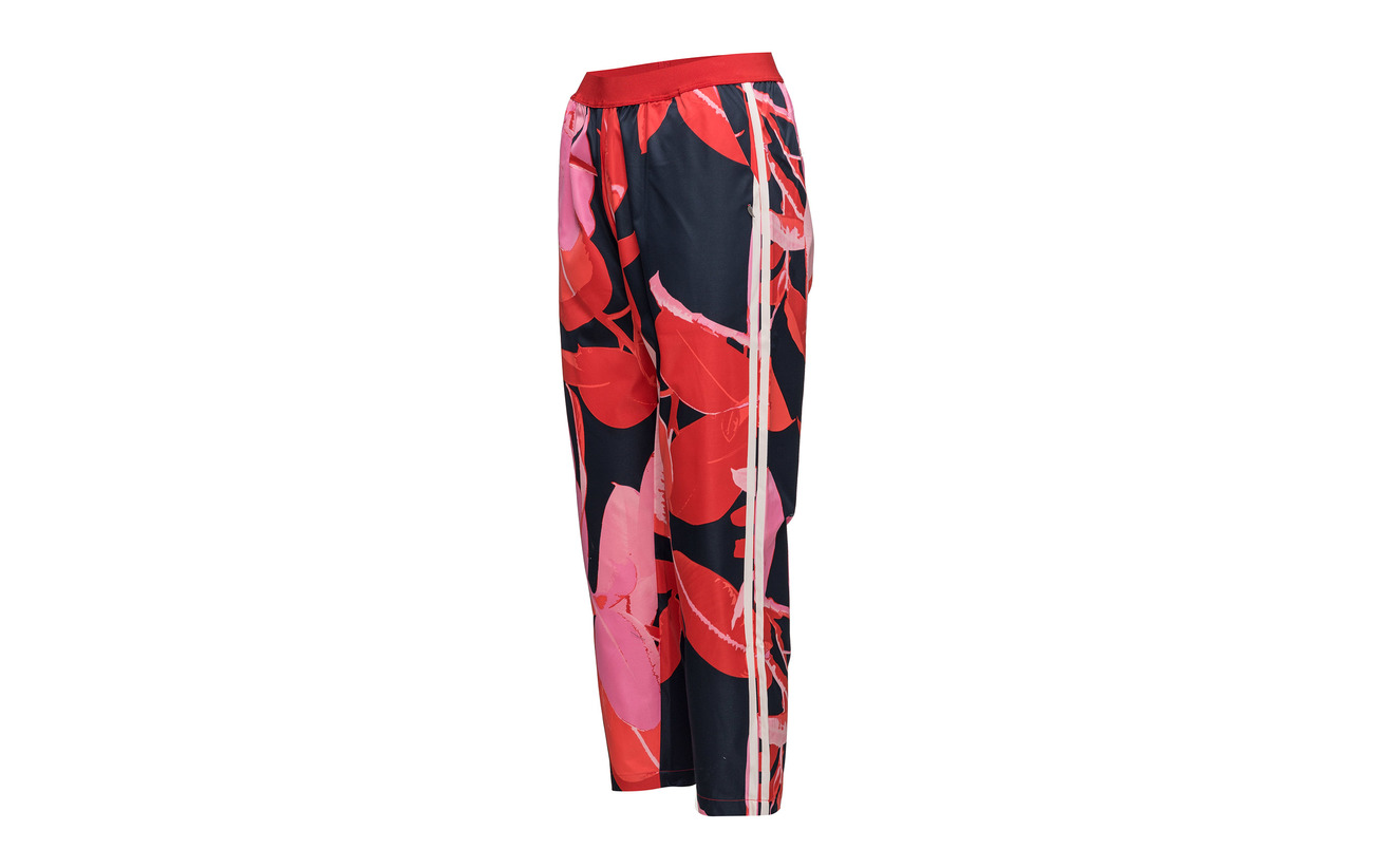 Trousers Polyester And amp; Stripe Copenhagen Blue Branch Print 100 W Coster Dark PT0wq5