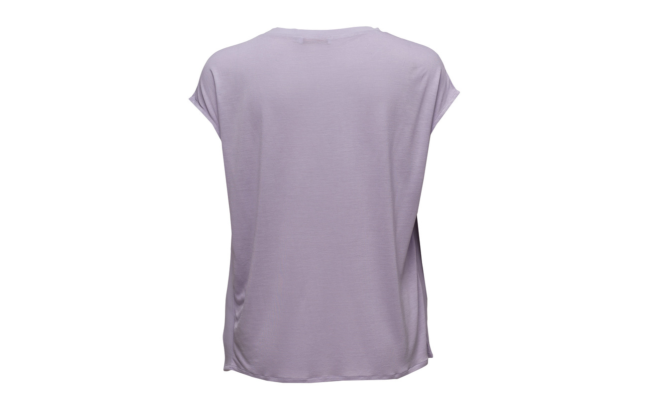 Viscose Coster In 100 Top Lilac Cupro Cupro Extérieure Jersey Détail Pastel 40 Copenhagen W Back Coquille 60 rTrqa6