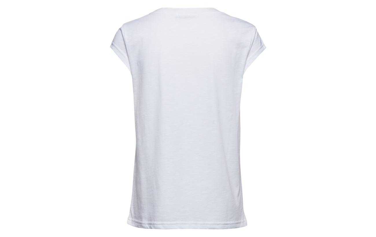 40 Polyester Splash Print T White Coster shirt Copenhagen 60 Coton W xPxvzA