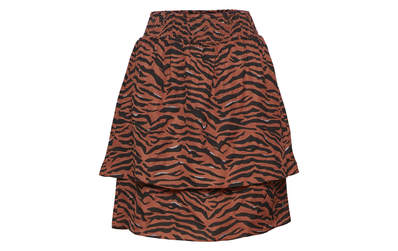 Waist Coster W 62 Modale Copenhagen Viscose 38 Skirt In Zebra Smock Print xX8Xq0rwP
