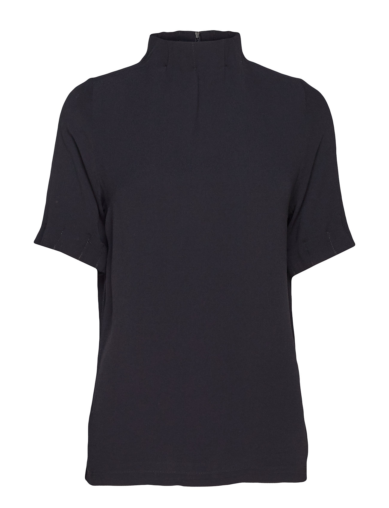 Coster Copenhagen Top w. pleated high neck