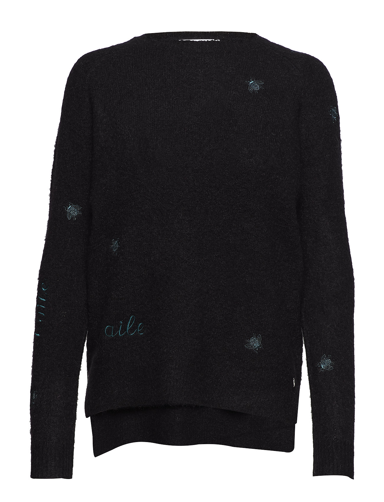Sweater Mohair WEmbroiderblackCoster Knit In Copenhagen ygf6IYv7b