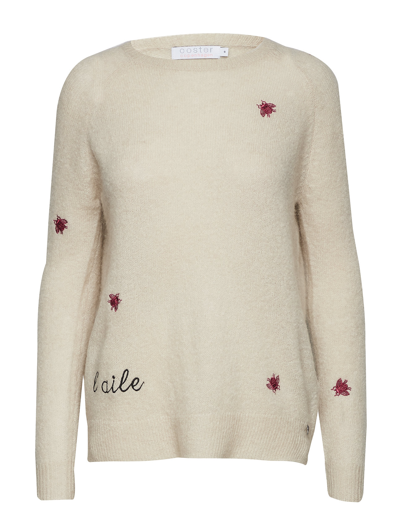Sweater In Mohair Knit W. Embroider - Coster Copenhagen