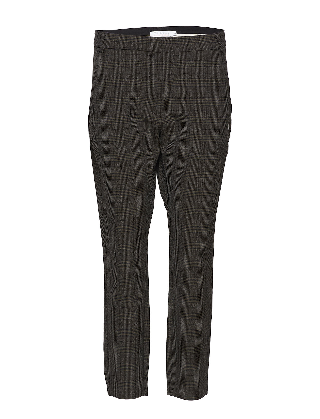 Coster Copenhagen 7 8 pants in checks Byxor
