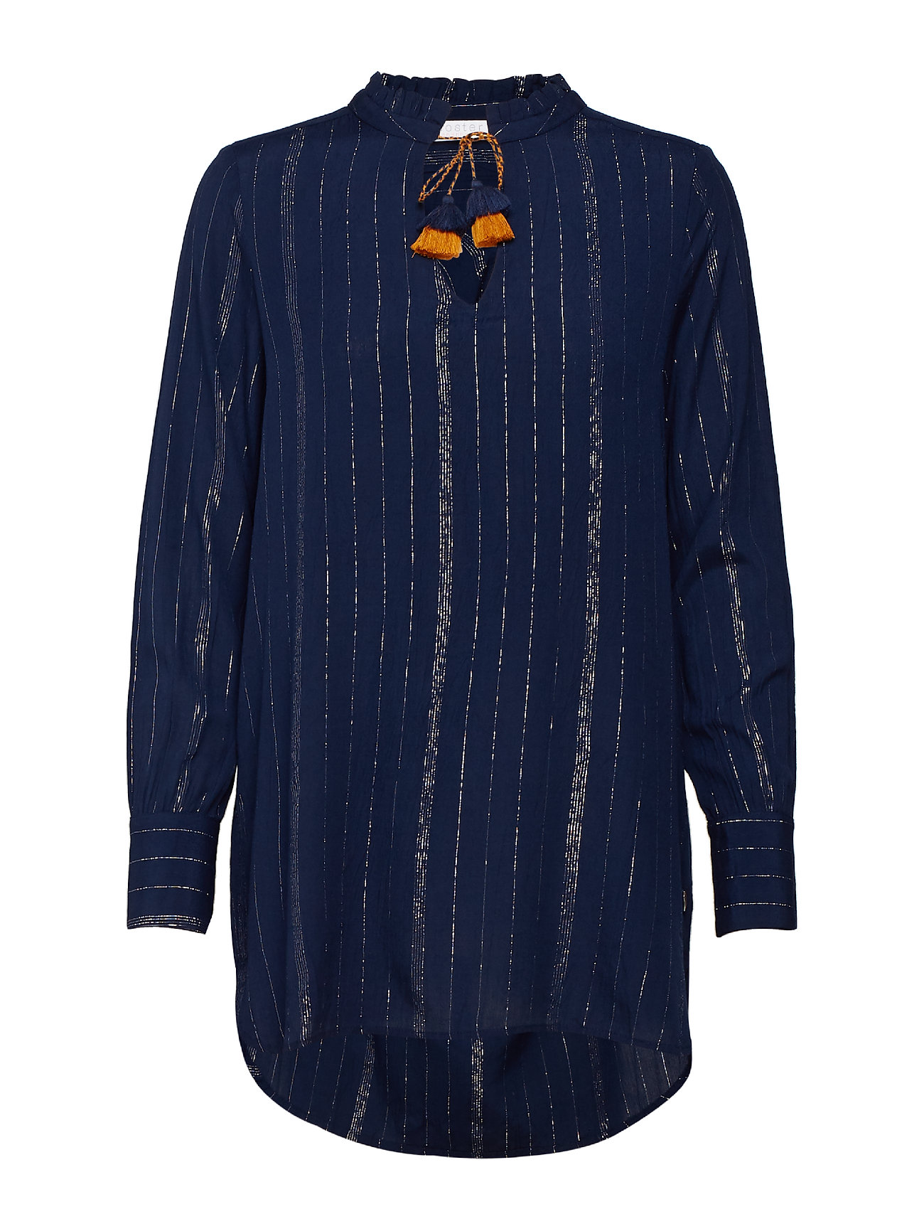 Coster Copenhagen Blouse w. lurex stripes