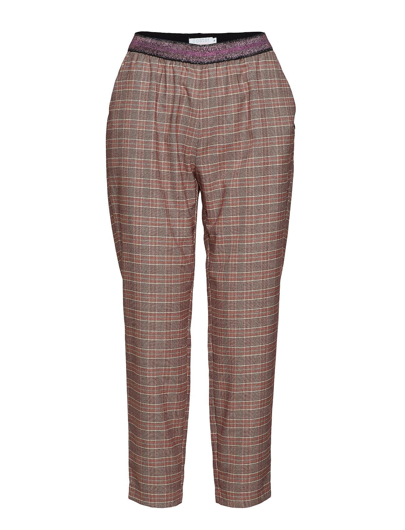 Pants In Checks W. Lurex Tape - Coster Copenhagen