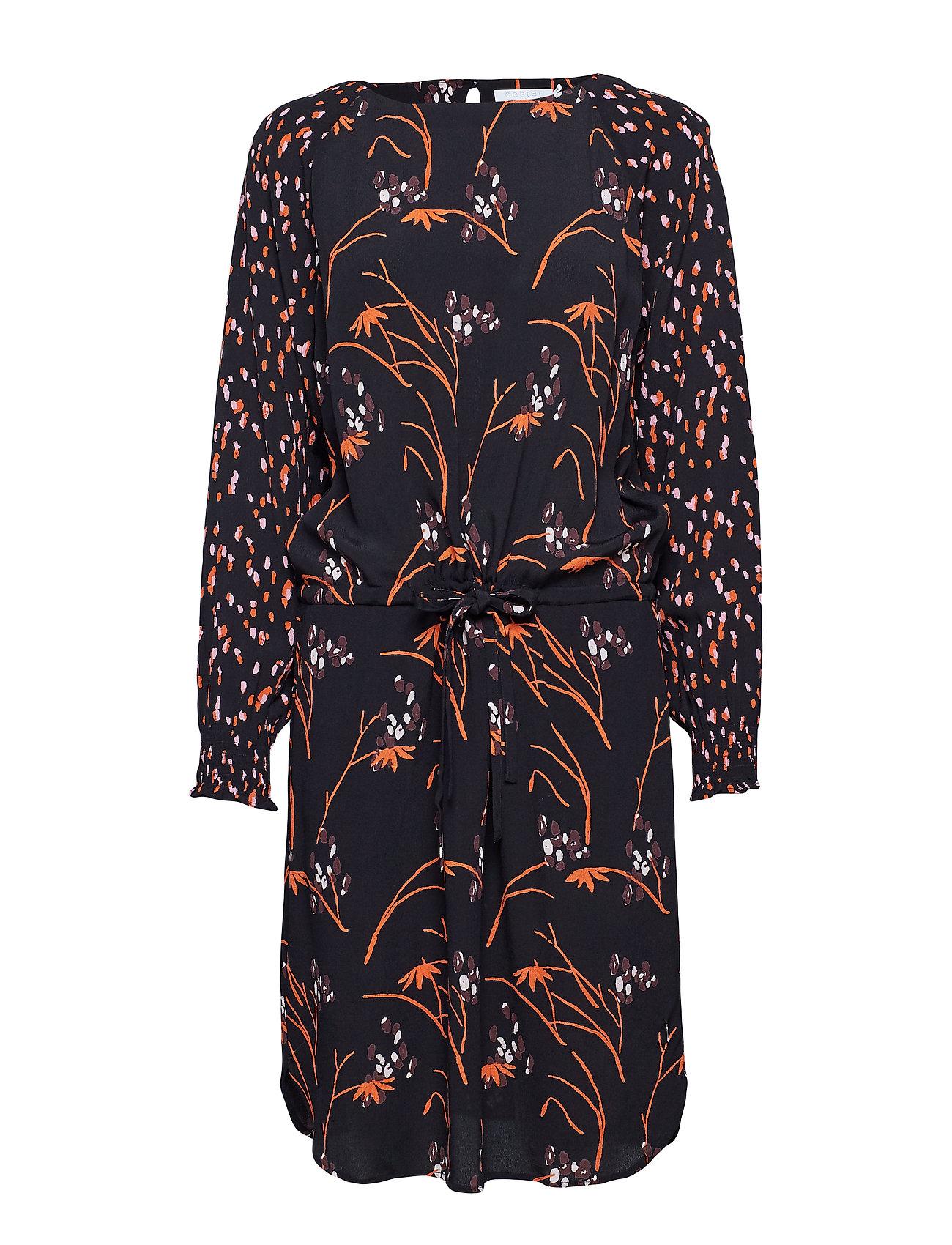 Dress In Hibiscus Print - Coster Copenhagen