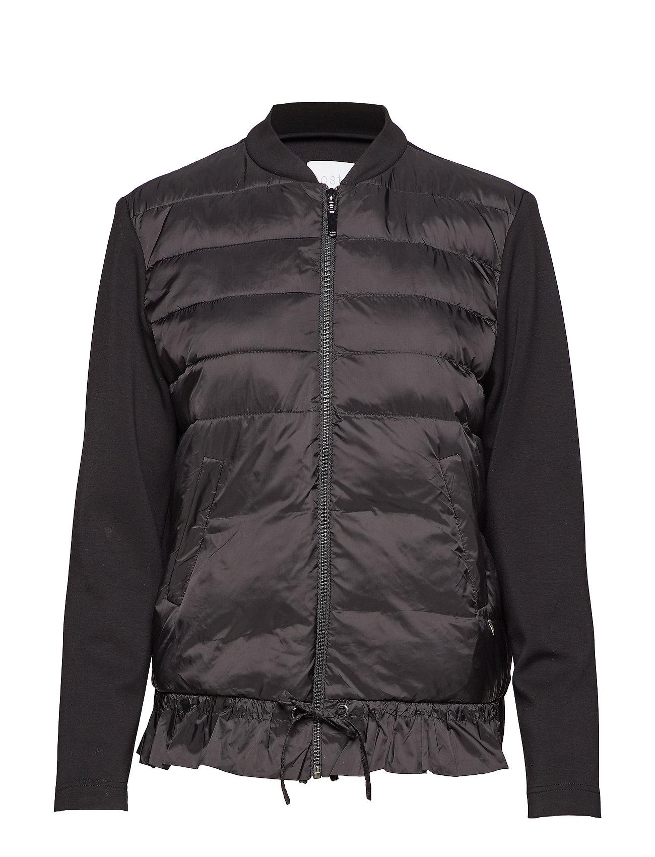 Jacket In Scuba W. Quiltet Down Fro - Coster Copenhagen