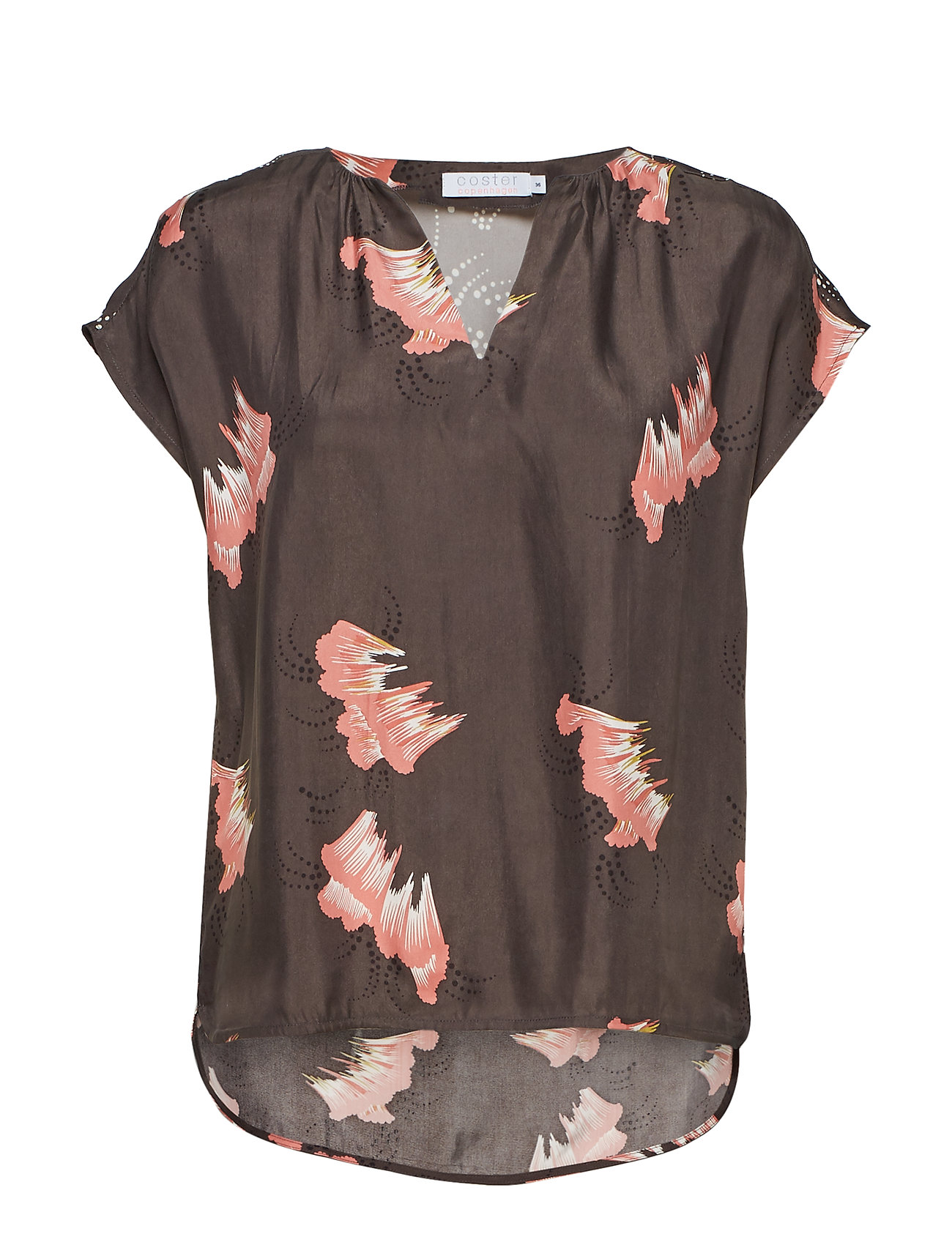c720dfb8f8 Top In Sky Print W. V-neck And Stan (Grey Plum) (£64.35) - Coster ...