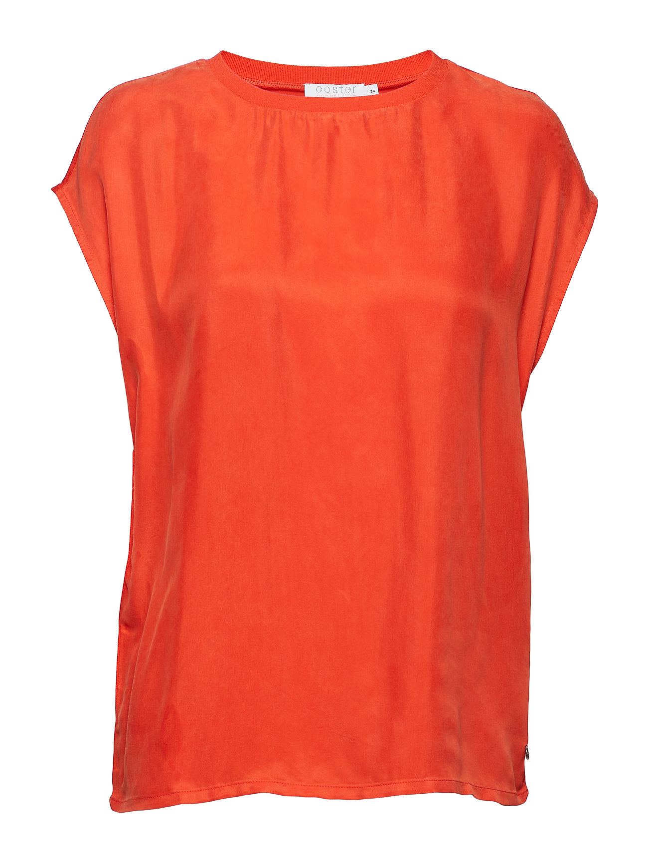 Coster Copenhagen Top in cupro - GRENADINE