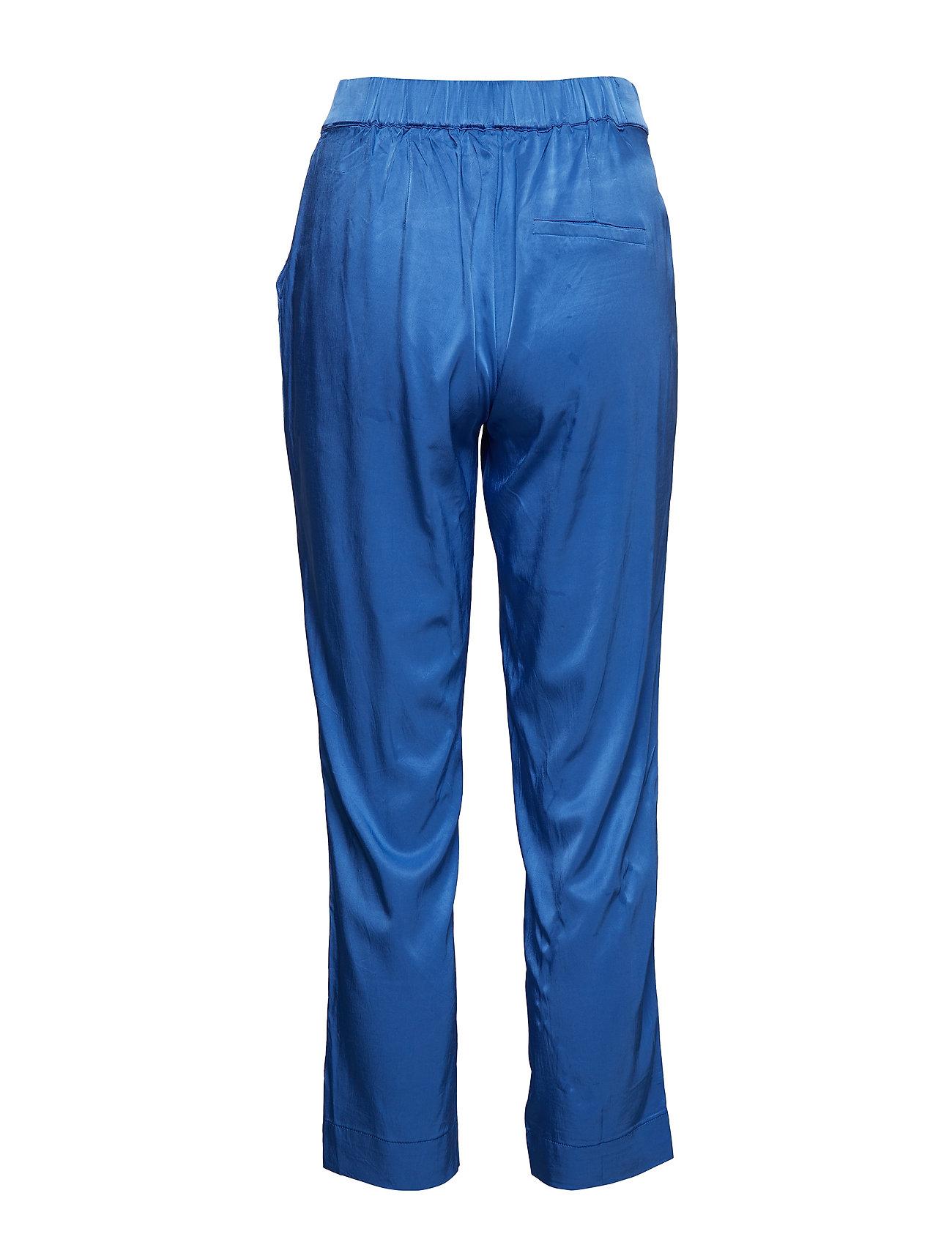 Pants In Satin Stretch (Sky Blue) (389.70 kr) - Coster Copenhagen
