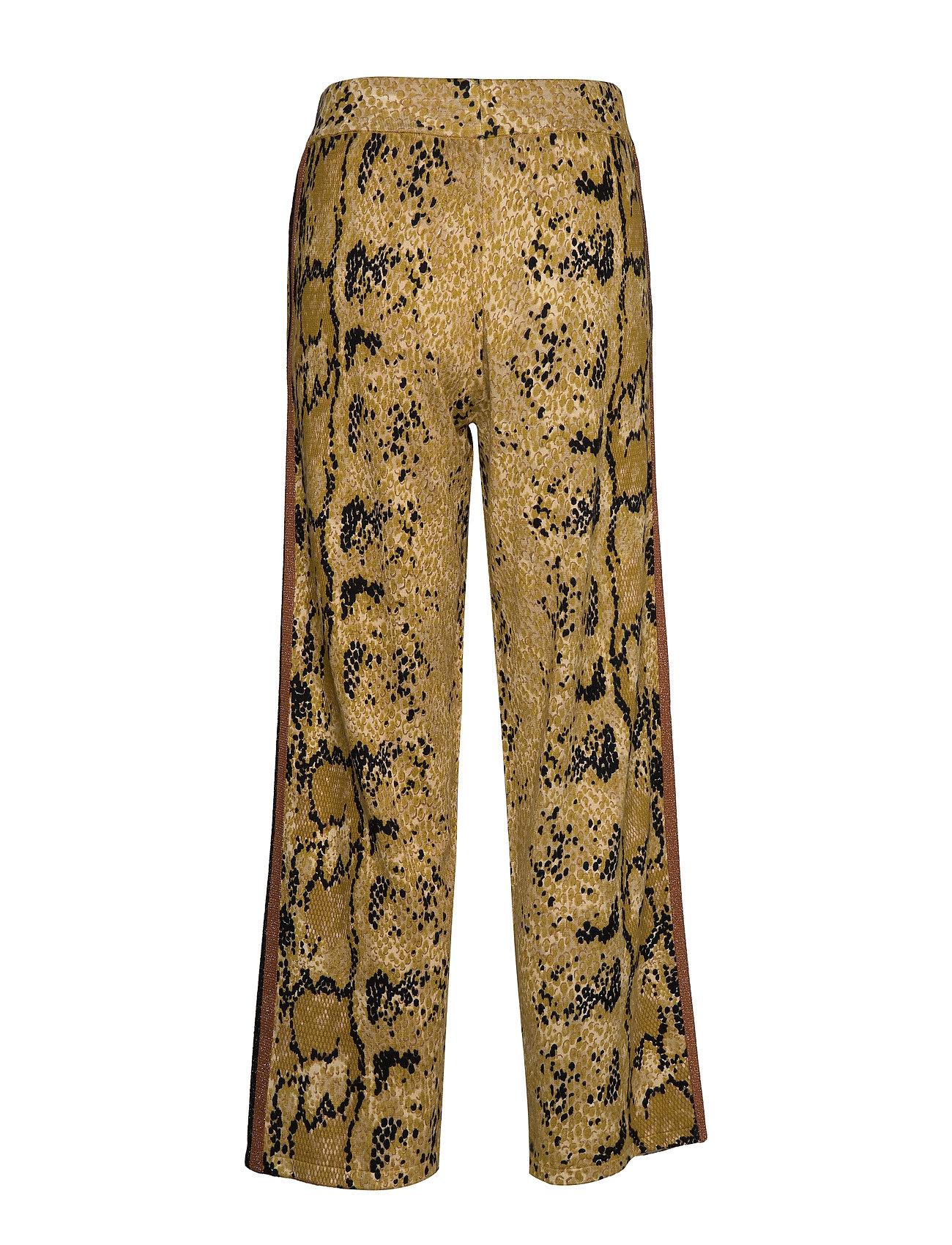 Pants Pyton Printyellow Knitted PytonCoster Copenhagen In doerxCB