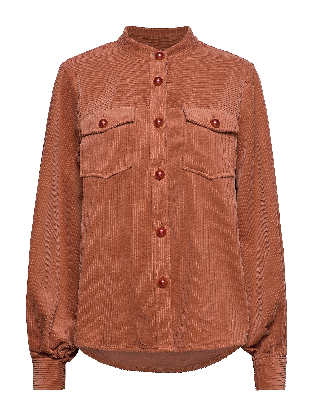 Coster Copenhagen Jacket in corduroy - ORANGE MIST