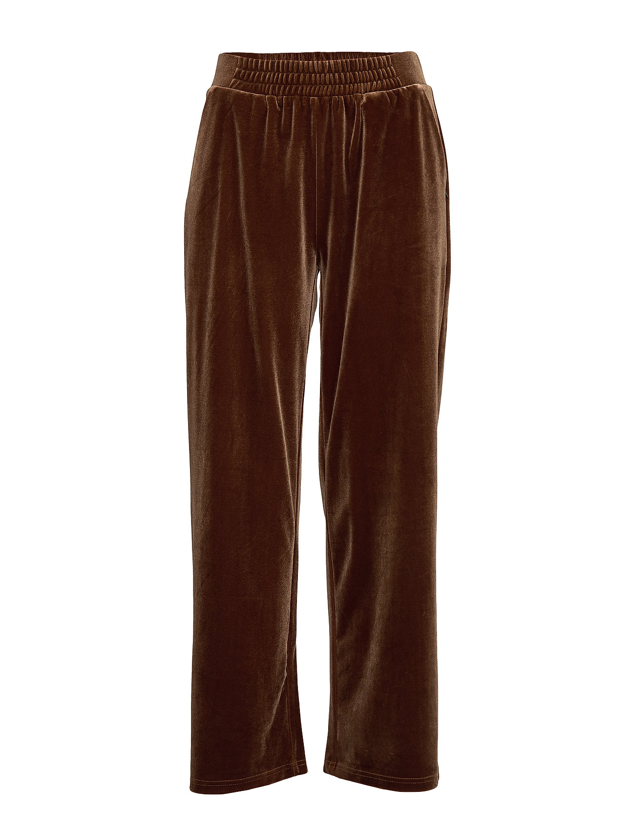 Coster Copenhagen Pants in velvet - COGNAC