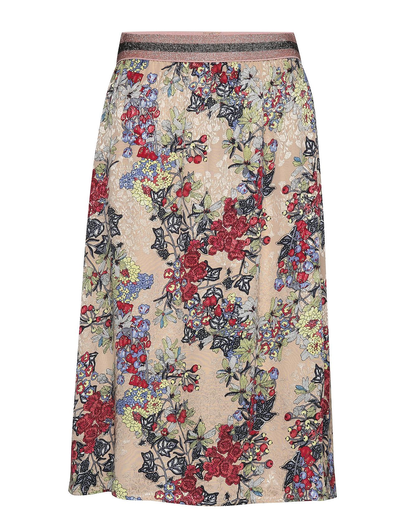 Coster Copenhagen Skirt in winter berry print - WINTER BERRY PRINT