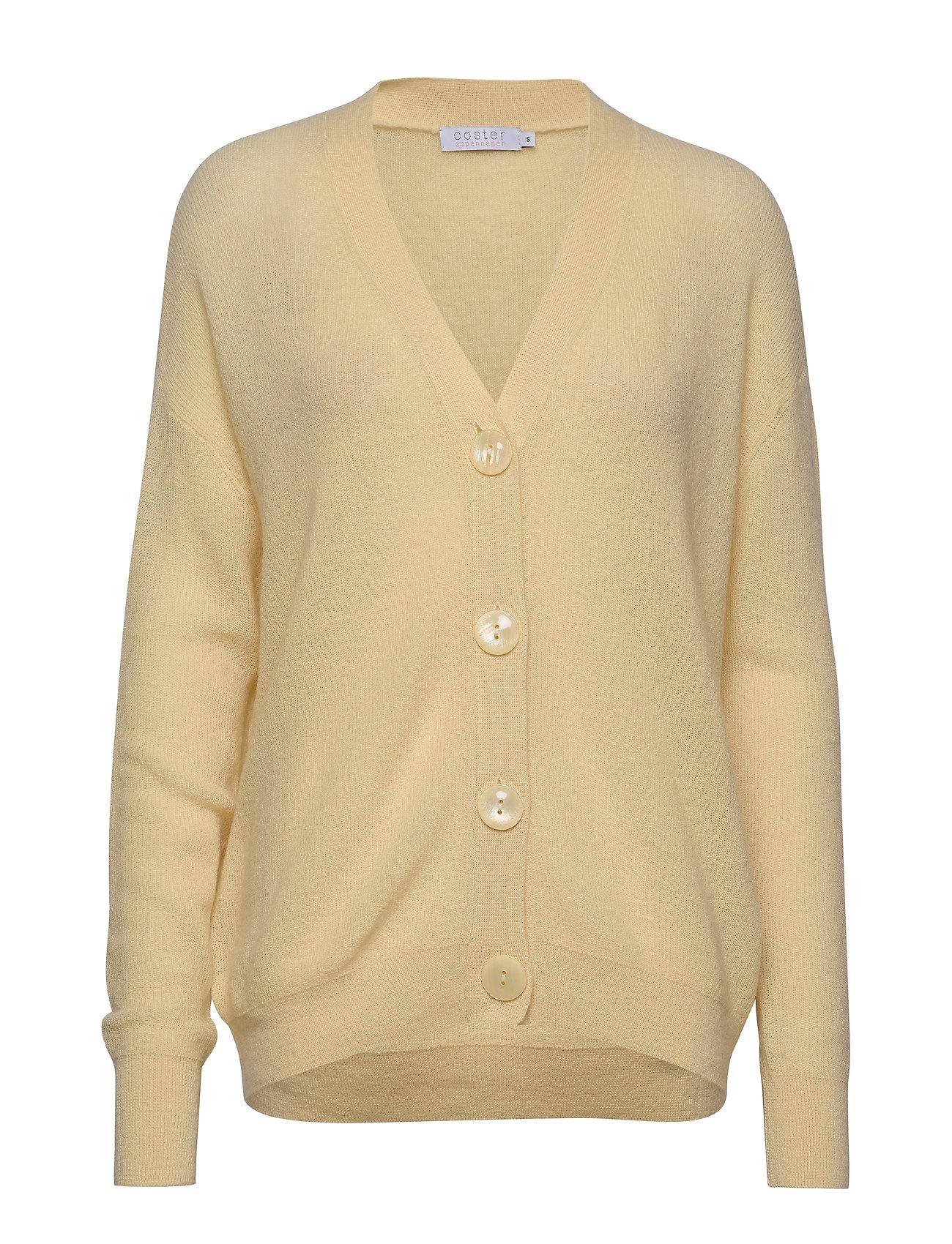 Coster Copenhagen Cardigan w. buttons - LIGHT YELLOW