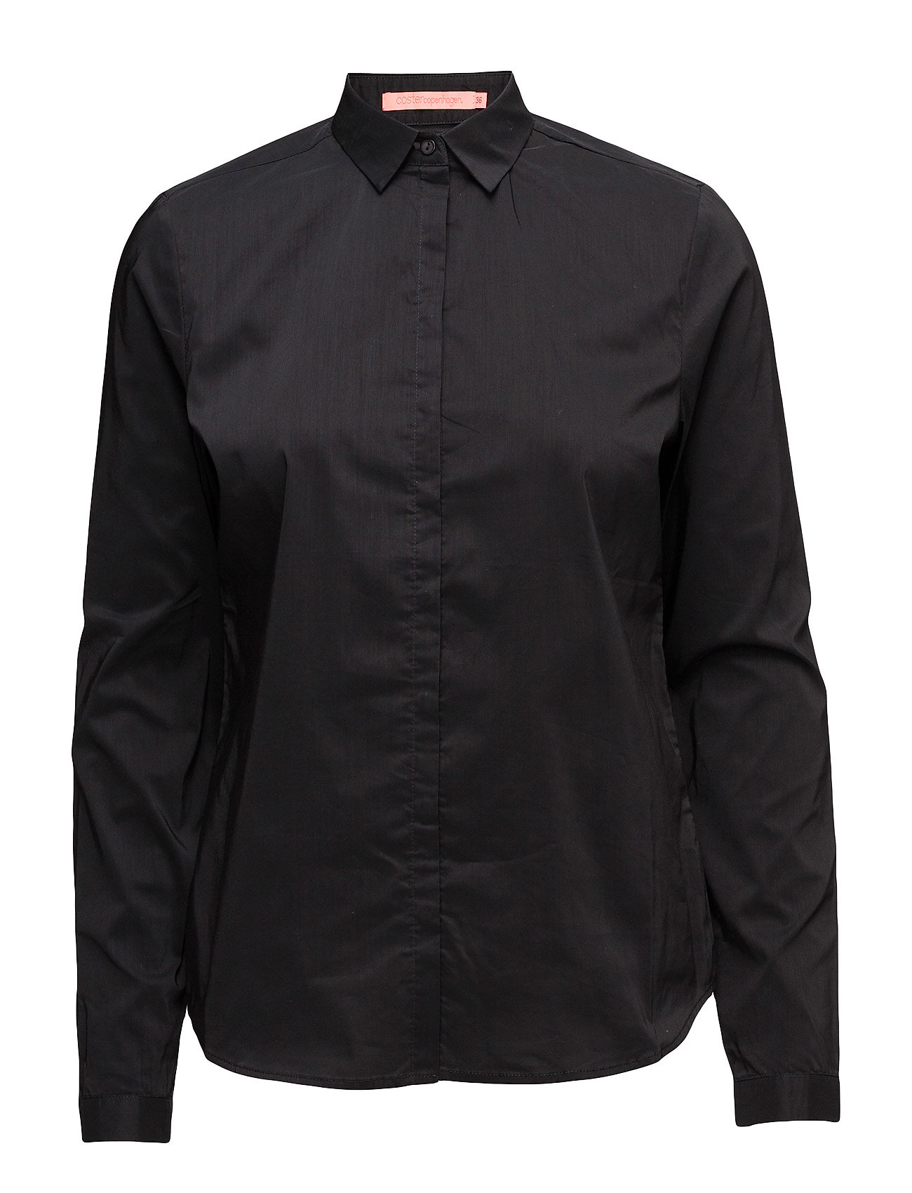 Coster Copenhagen Shirt (Basic) - BLACK