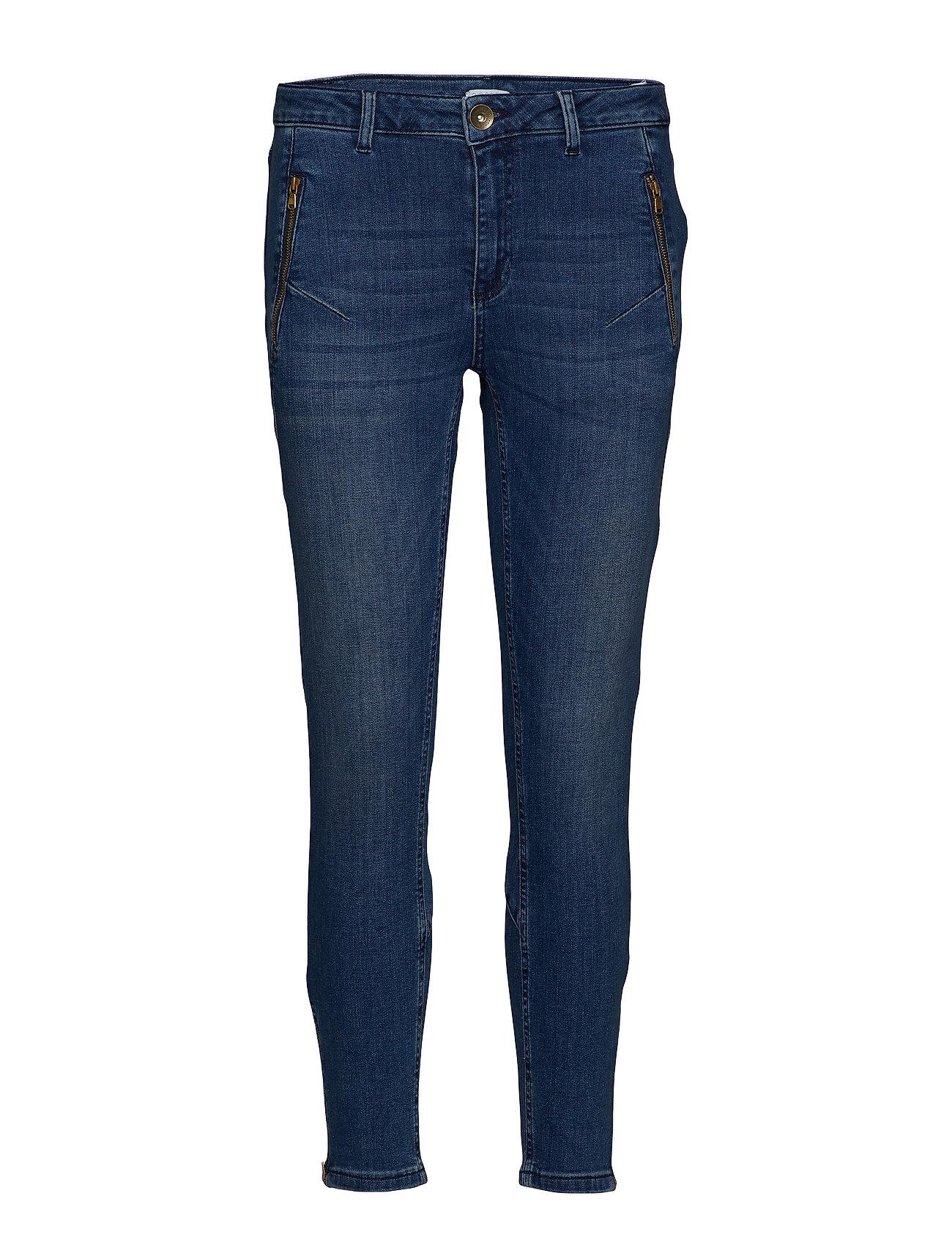 Coster Copenhagen Relaxed Jeans in 7/8 length - INDIGO BLUE