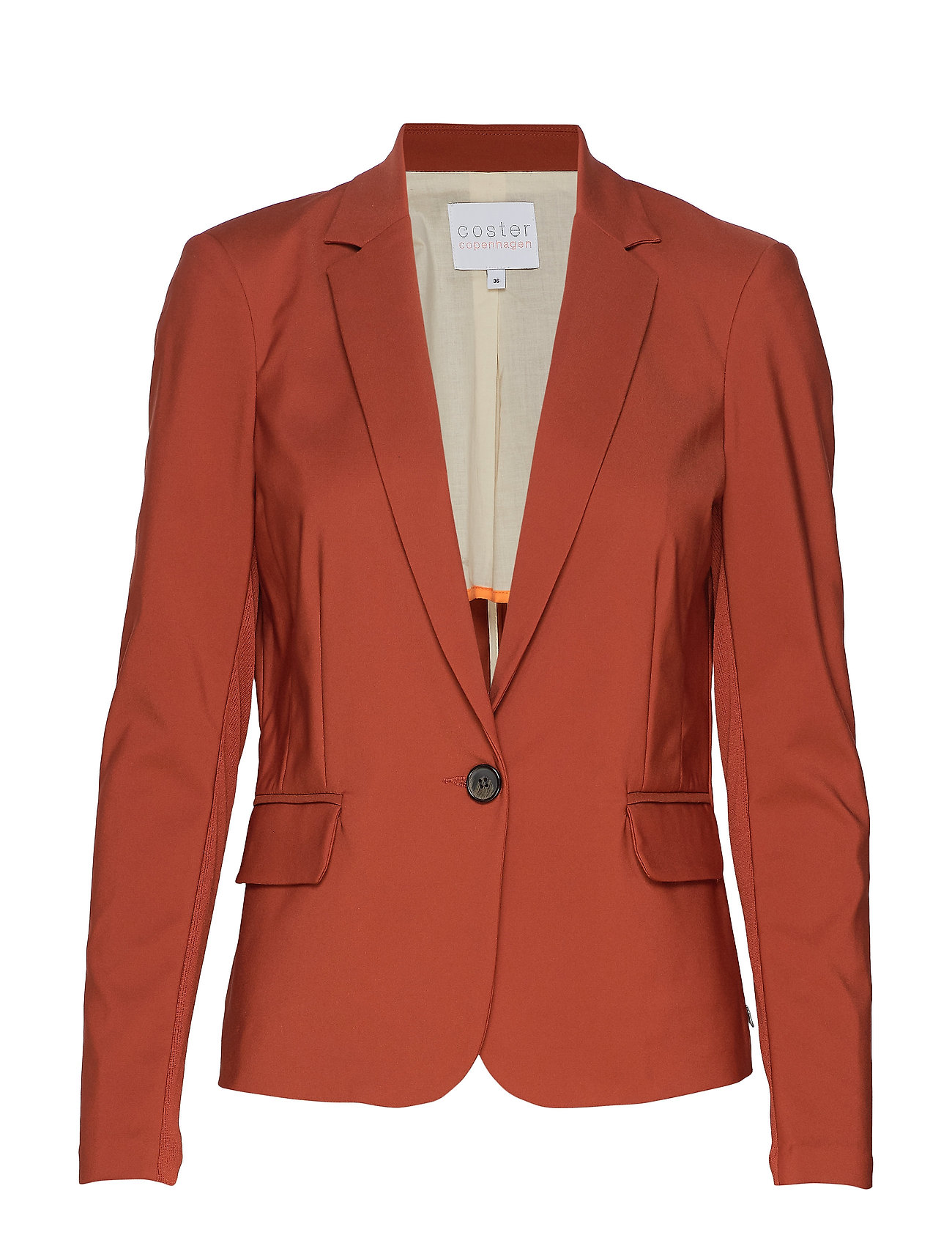 Coster Copenhagen Suit jacket - BURNT HENNA
