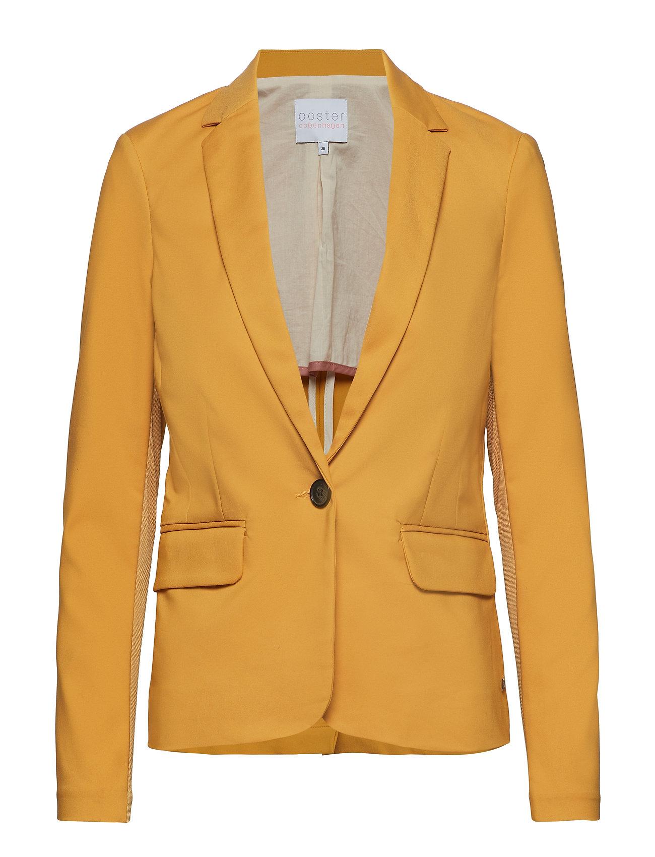 Coster Copenhagen Suit jacket - GOLD SPICE