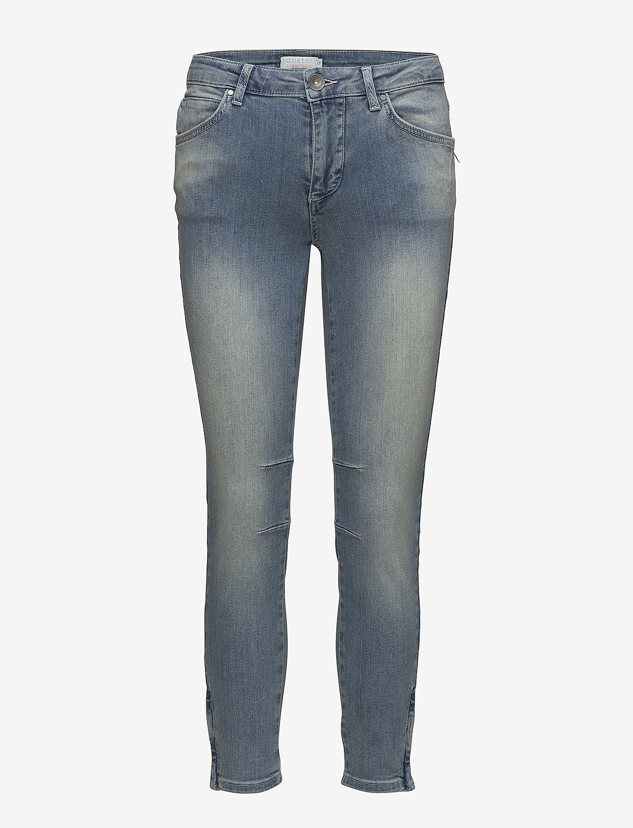 Coster Copenhagen - Slim fit jeans same as 3124 - slim jeans - washed blue - 0