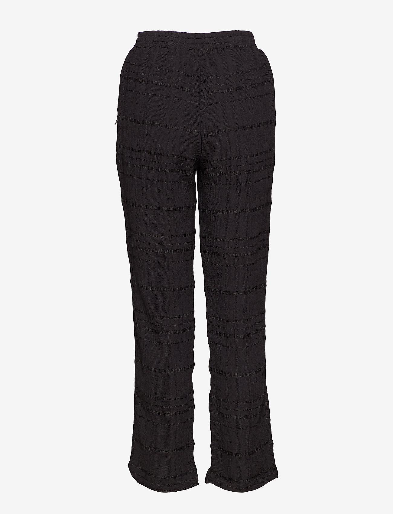Pant W. Checks (Black) - Coster Copenhagen QxvUxH