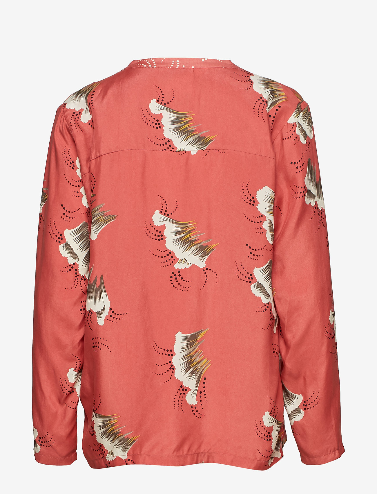 Blouse In Sky Print W. V-neck (Canyon Rose) - Coster Copenhagen SnF0Tv