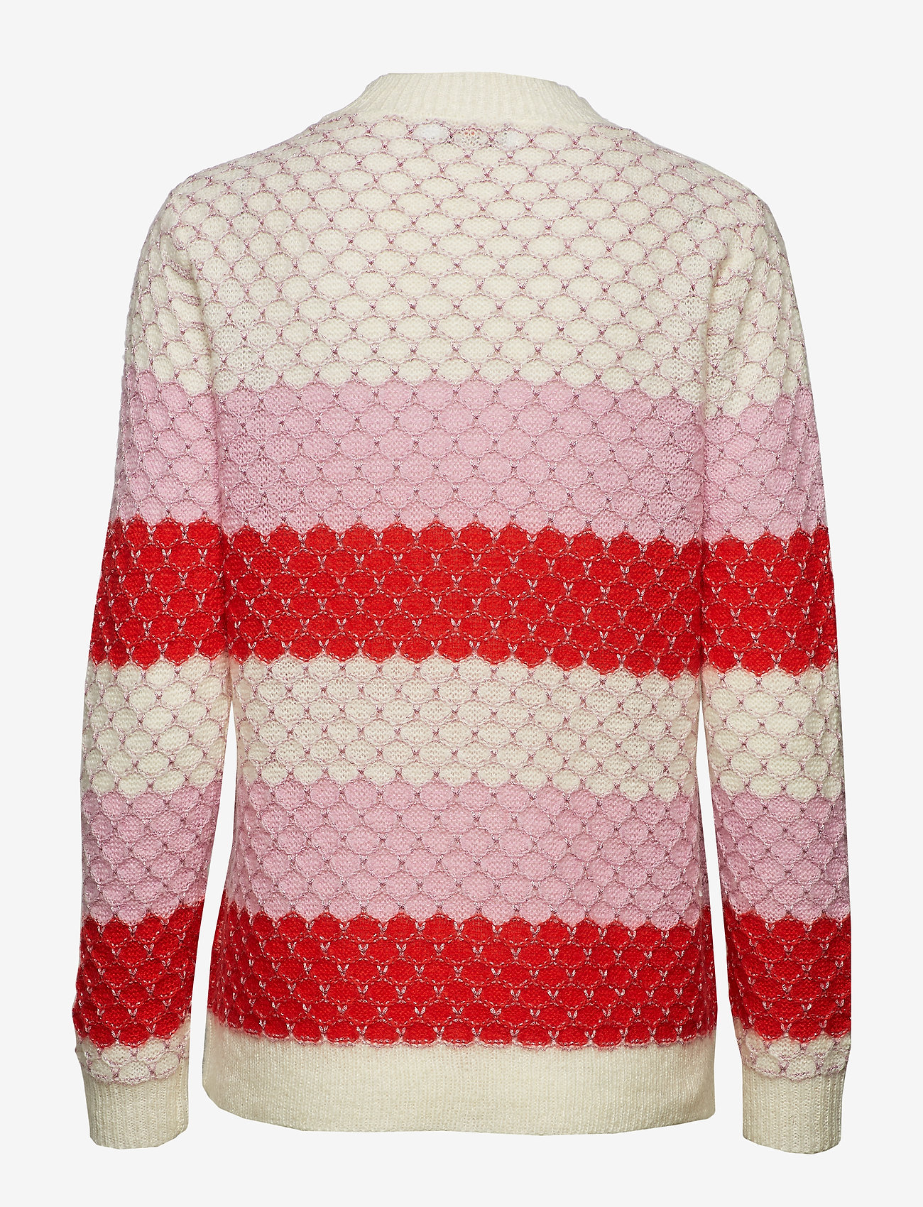 Sweater In Mohair W. Color Mix And (Begonia Multi Stripe) (439.60 kr) - Coster Copenhagen