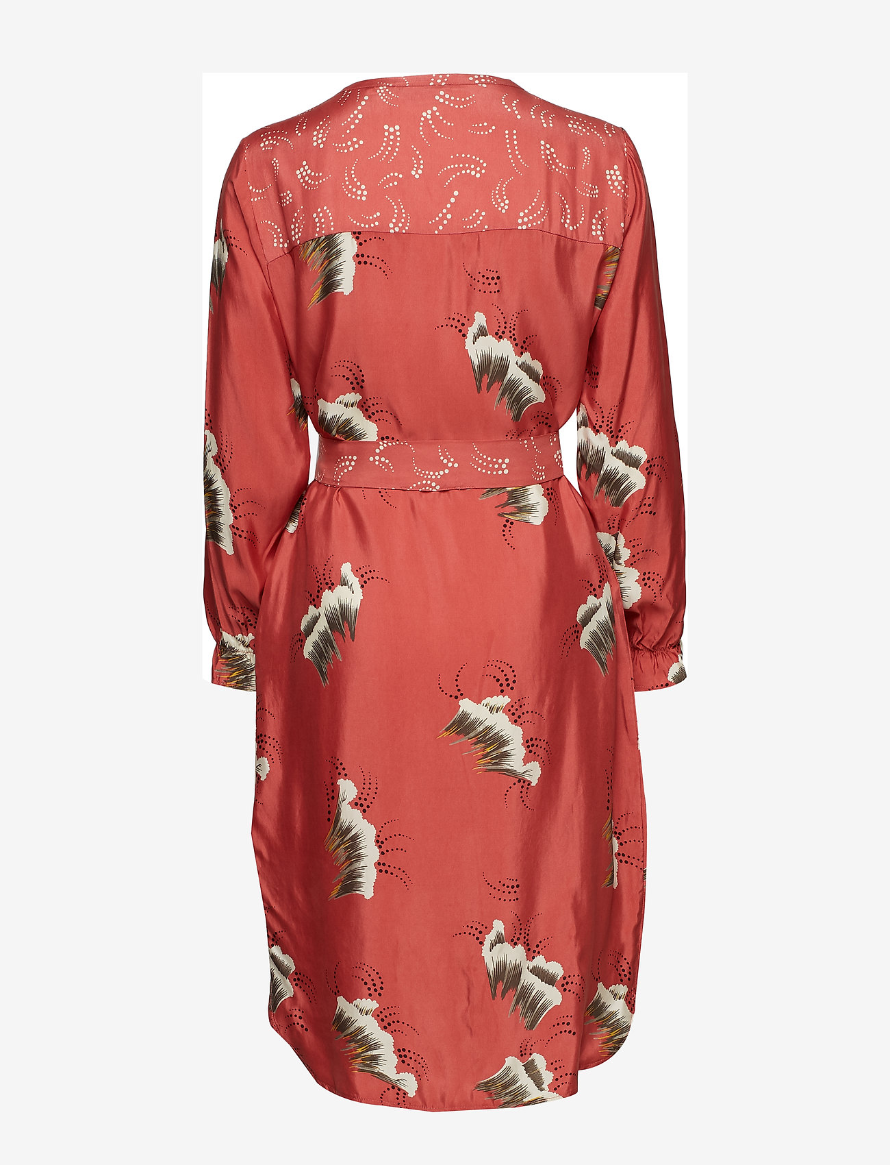 Dress In Sky Print W. Belt (Canyon Rose) (639.60 kr) - Coster Copenhagen