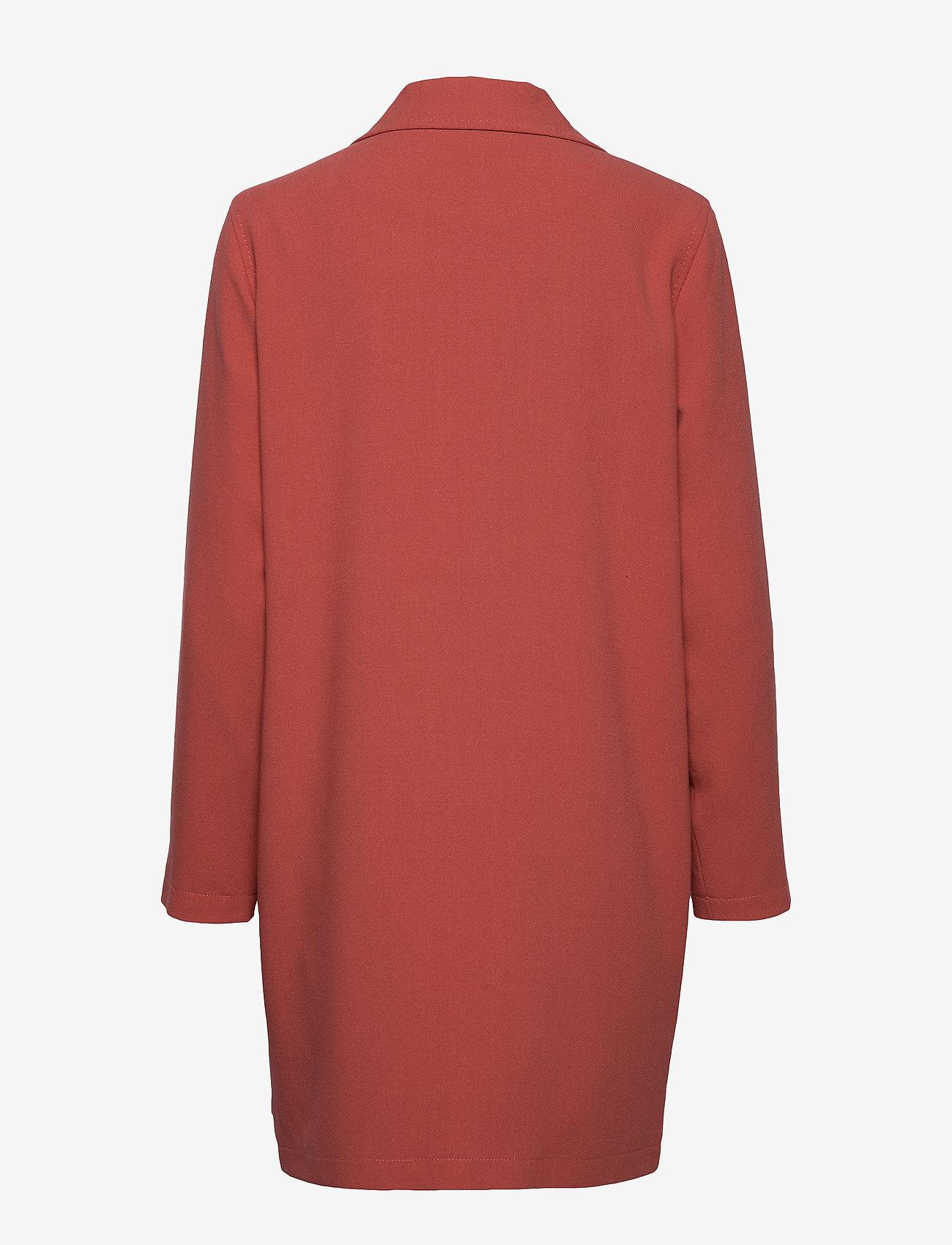 Long Jacket W. Basting Stitch Detai (Canyon Rose) (539.70 kr) - Coster Copenhagen