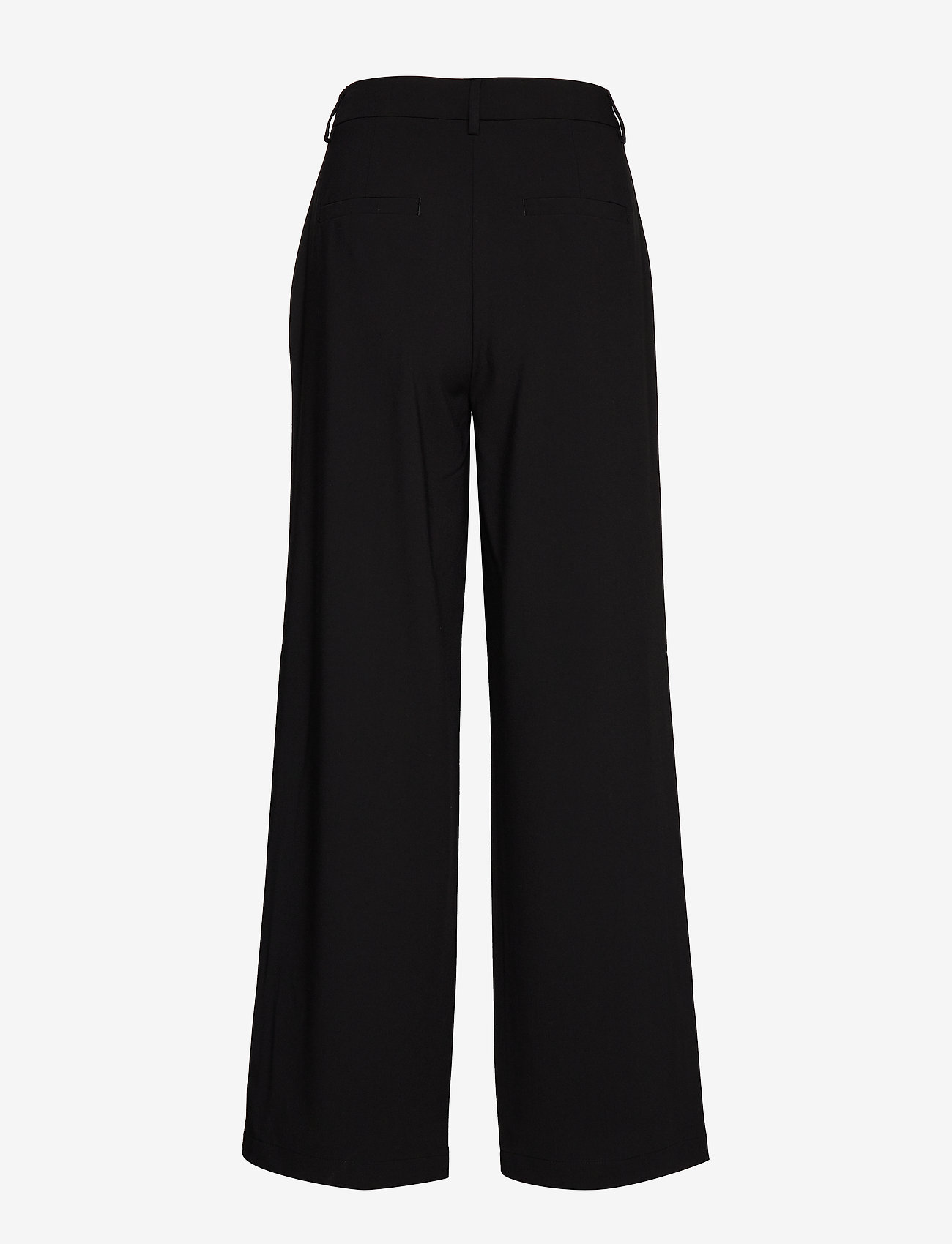Coster Copenhagen Pants W. Button Detail At Pockets - Byxor Black