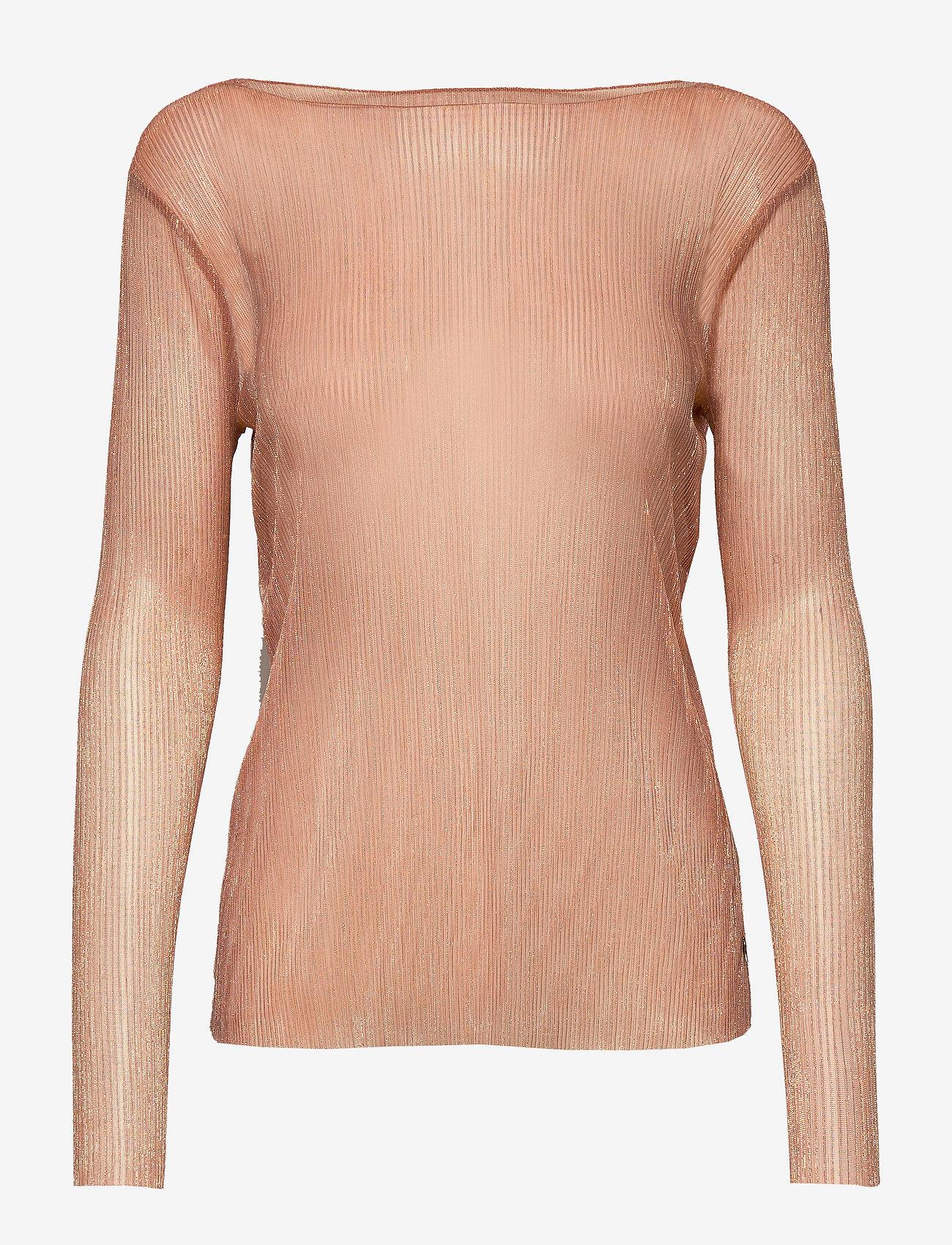 Coster Copenhagen - Blouse long sleeved in lurex - blouses à manches longues - cobber