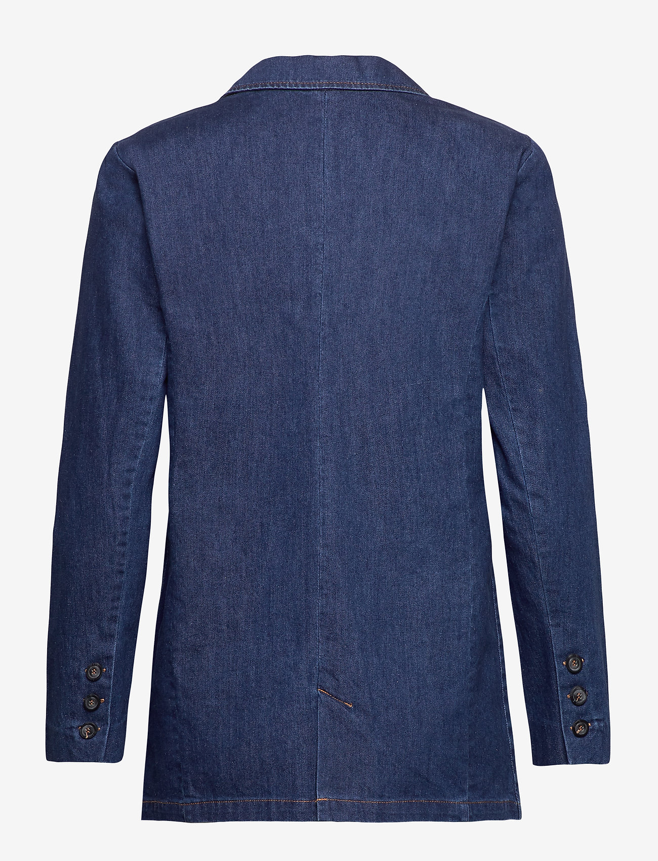 Coster Copenhagen - Suit jacket in denim - bleiserit - raw dark blue - 1