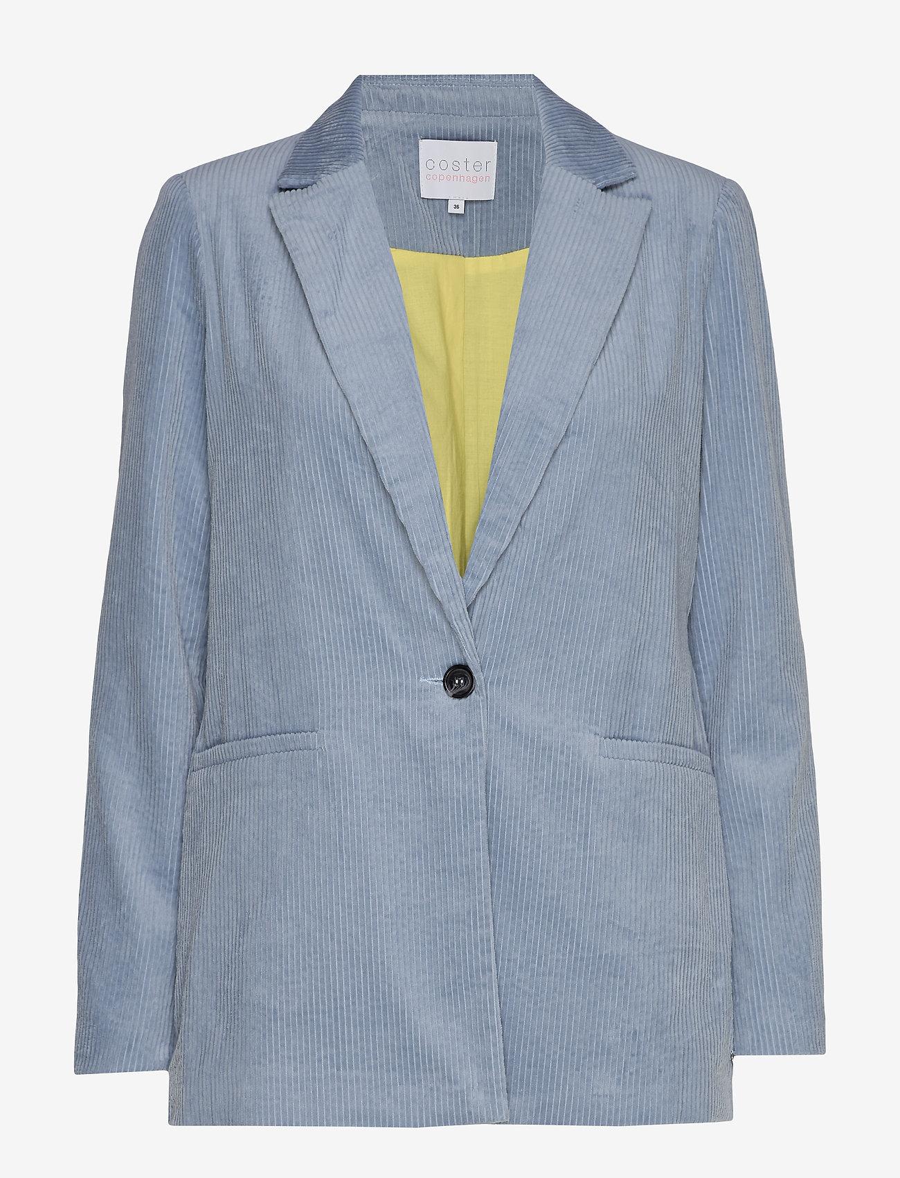 Coster Copenhagen - Suit jacket in corduroy - vestes tailleur - shadow blue